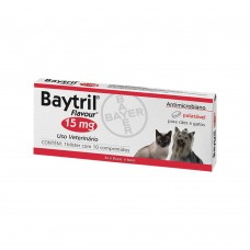 Baytril 15mg 10 comprimidos