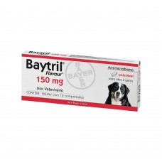 Baytril 150mg 10 comprimidos