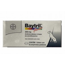 Baytril 250mg 6 comprimidos