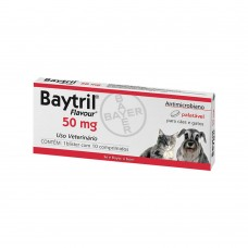 Baytril 50mg 10 comprimidos