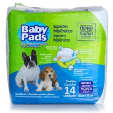 Tapete Baby Pads 60x65 c/14 Petix
